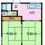 ふじコーポ105号 9月上旬より入居可☺人気の高岡格安物件です!!